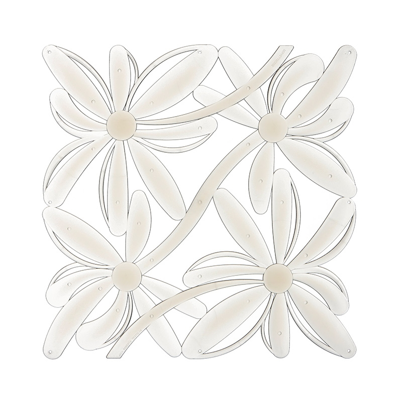 VedoNonVedo Positano decorative element for furnishing and dividing rooms - transparent 1