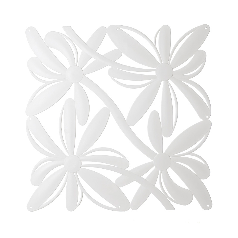 VedoNonVedo Positano decorative element for furnishing and dividing rooms - white 1
