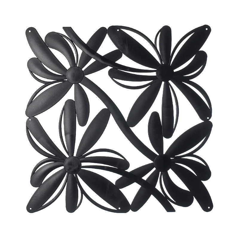 VedoNonVedo Positano decorative element for furnishing and dividing rooms - black 1