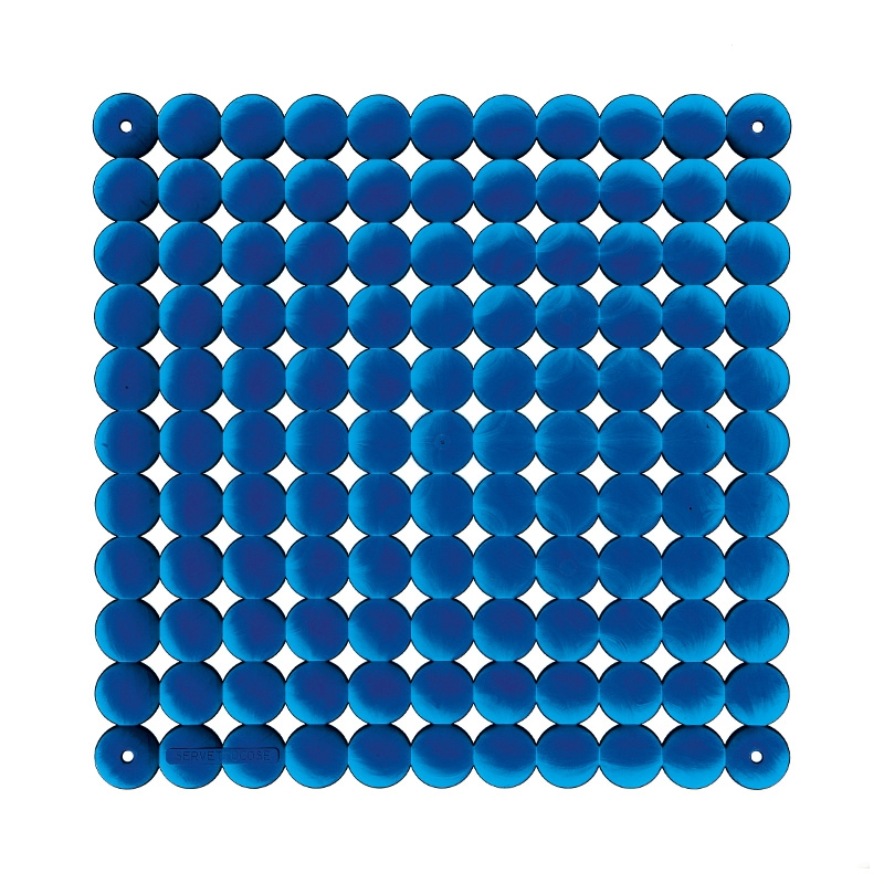 VedoNonVedo Timesquare decorative element for furnishing and dividing rooms - transparent blue 1