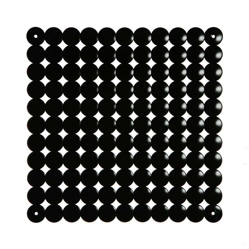 VedoNonVedo Timesquare decorative element for furnishing and dividing rooms - black 1