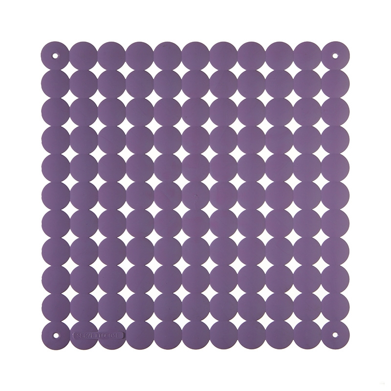 VedoNonVedo Timesquare decorative element for furnishing and dividing rooms - lilac 1