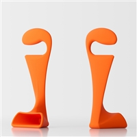 Pisolo bedroom clothes stand - orange 1