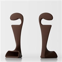 Pisolo bedroom clothes stand - brown 1