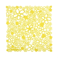 VedoNonVedo Vale decorative element for furnishing and dividing rooms - yellow 1