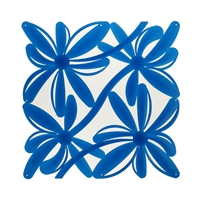 VedoNonVedo Positano decorative element for furnishing and dividing rooms - transparent blue 1