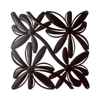 VedoNonVedo Positano decorative element for furnishing and dividing rooms - brown 1
