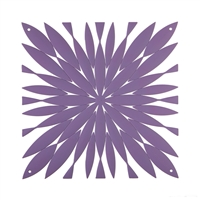 VedoNonVedo Daisy decorative element for furnishing and dividing rooms - lilac 1