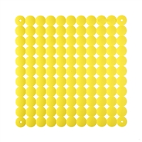 VedoNonVedo Timesquare decorative element for furnishing and dividing rooms - yellow 1