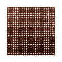 VedoNonVedo Timesquare big decorative element for furnishing and dividing rooms brown fumè 1