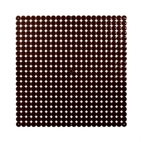 VedoNonVedo Timesquare big decorative element for furnishing and dividing rooms - brown 1