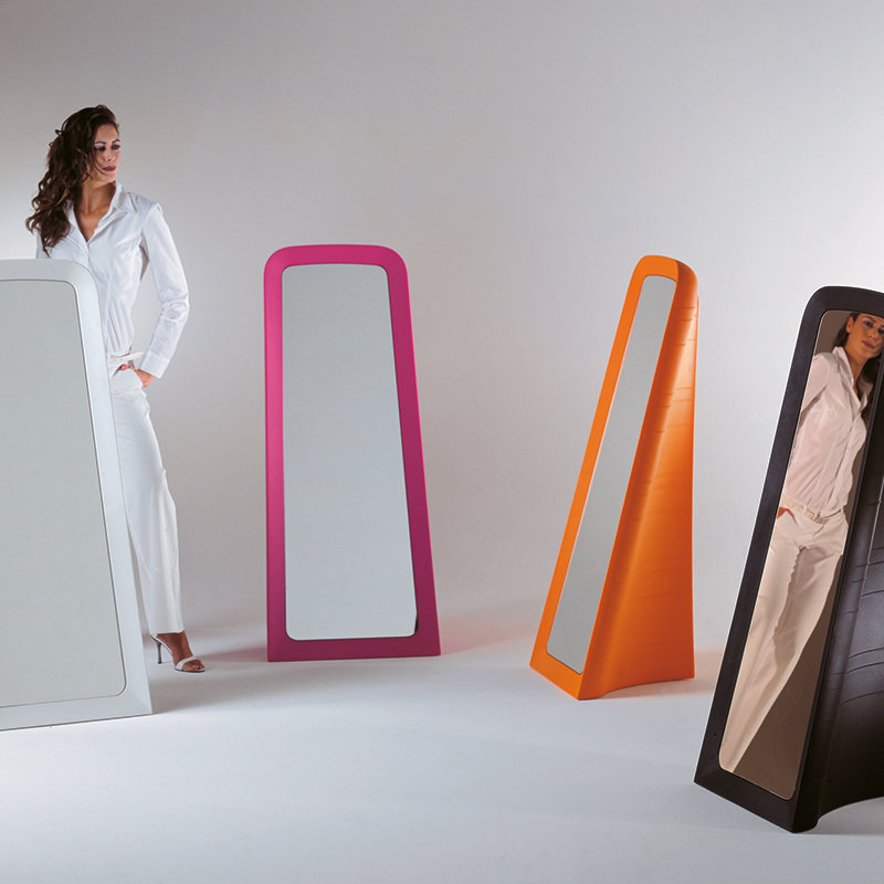 Cenerentola free-standing mirror - orange 2