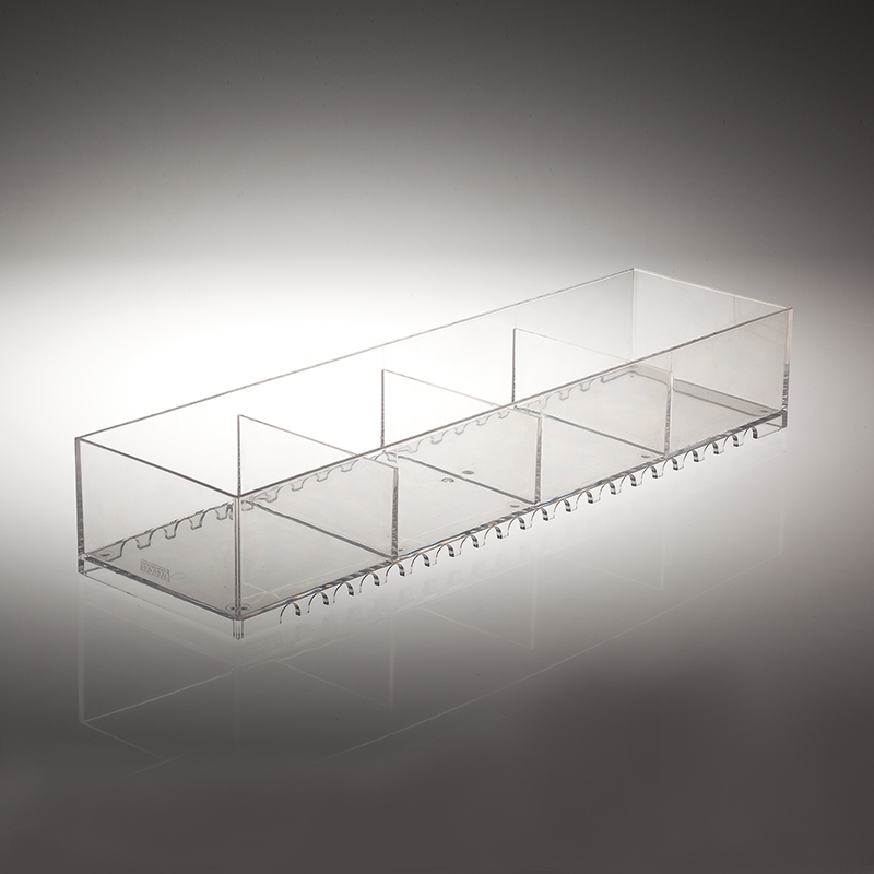 Jolly modern-design storage compartment - transparent 1