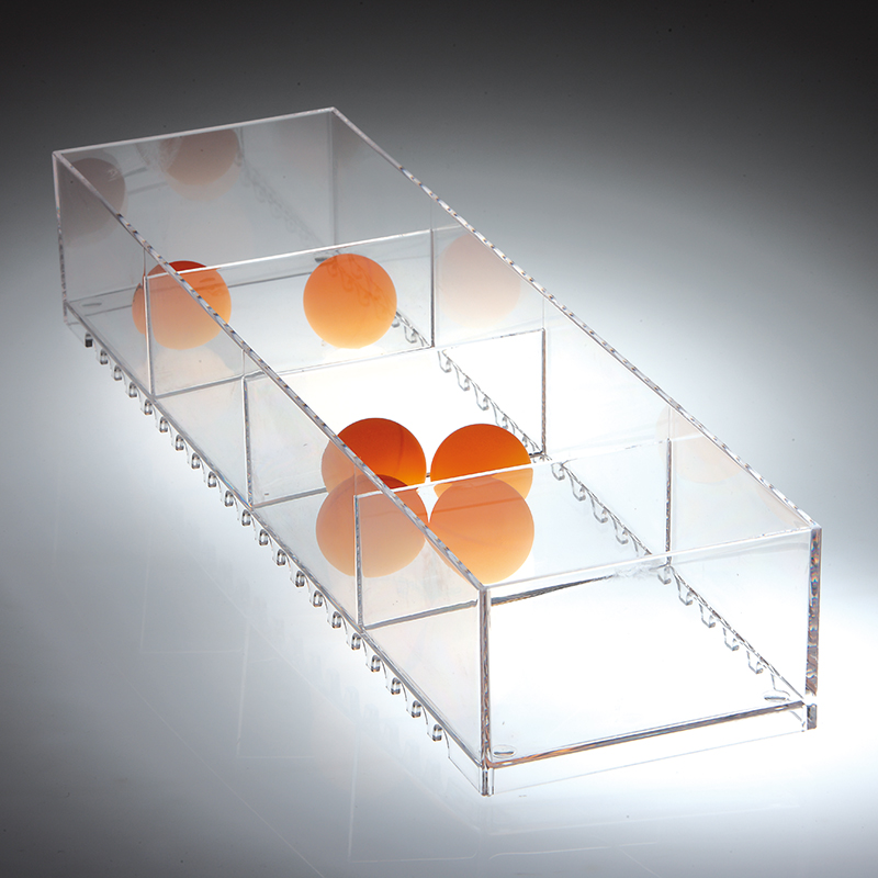 Jolly modern-design storage compartment - transparent 2