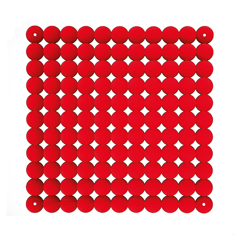 VedoNonVedo Timesquare decorative element for furnishing and dividing rooms - red 1