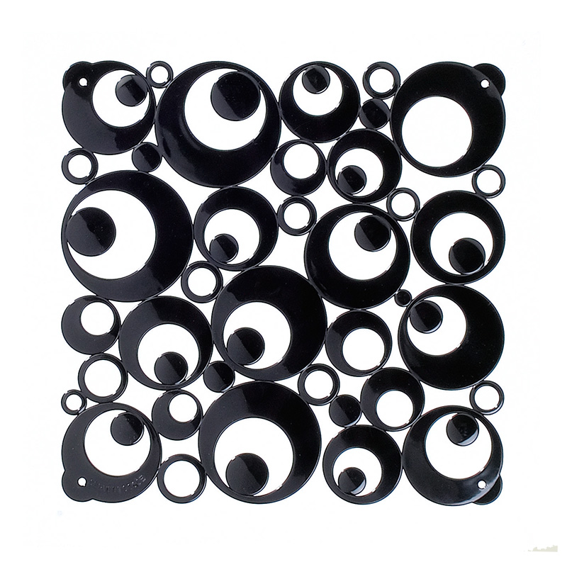VedoNonVedo Settantuno decorative partitions - black 1
