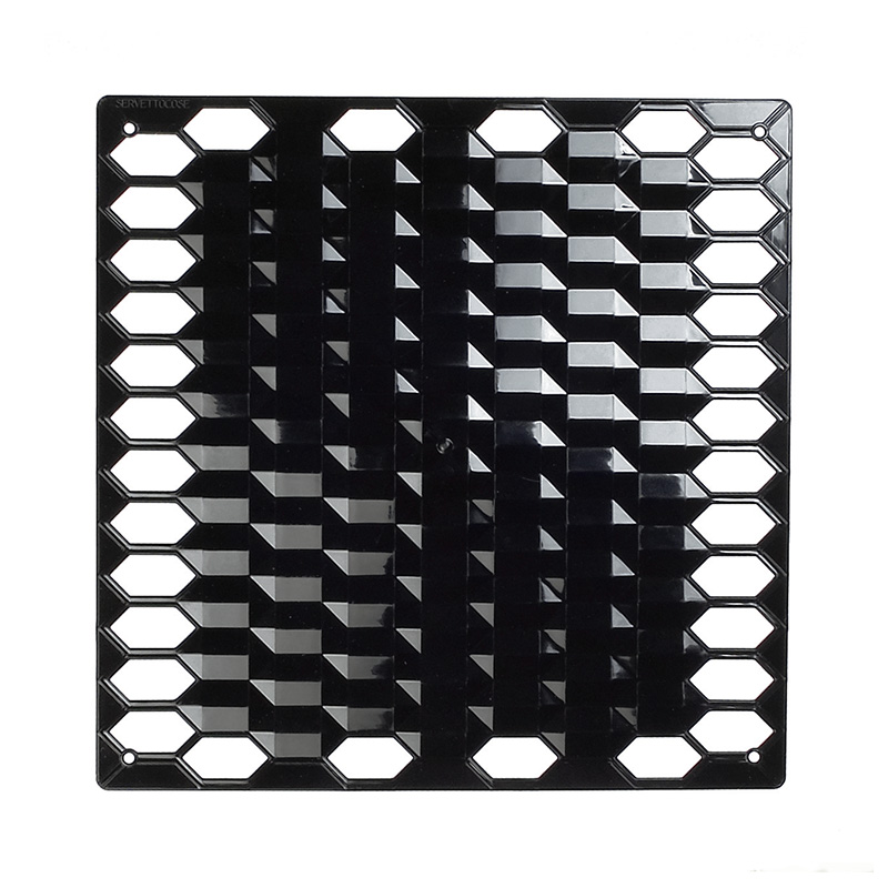 VedoNonVedo Diamante decorative element for furnishing and dividing rooms - black 1