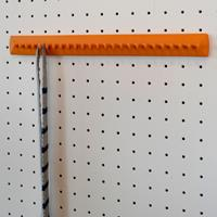 Takataka - fixed tie rack - 25 hooks - orange 1