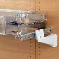 Jolly modern-design storage compartment - transparent 3
