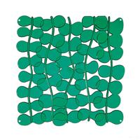 VedoNonVedo Eli decorative element for furnishing and dividing rooms - transparent green 1