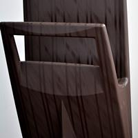 Eccopanta gessato bedroom coat stand - marrone 3