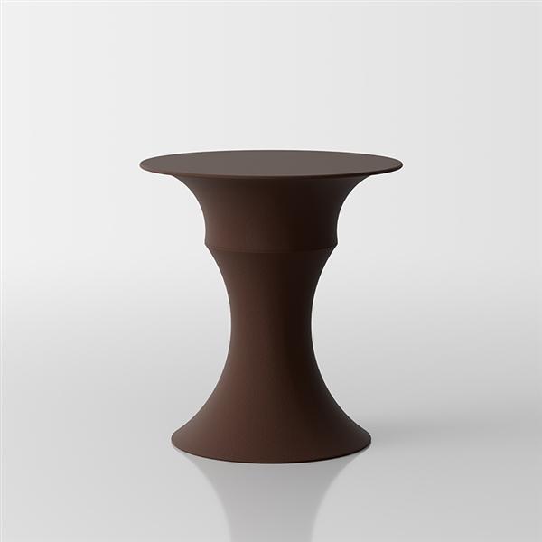 Olimpo zusammengesetzter Beistelltisch Design by Servetto - marron