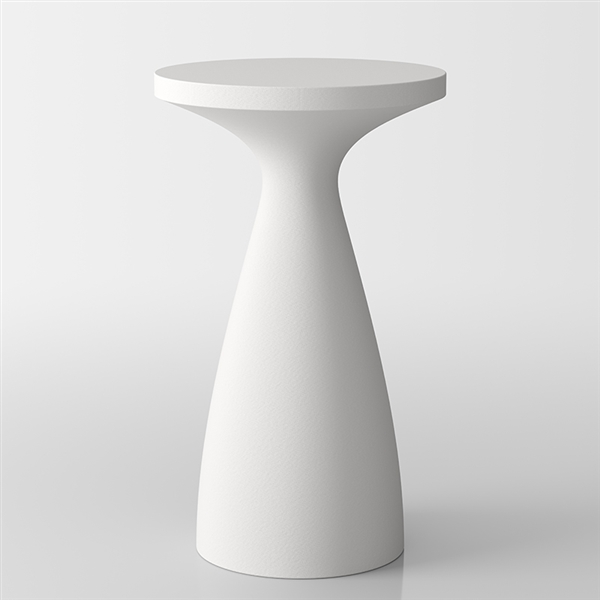 Drink modern bistro high table aperitfs - white