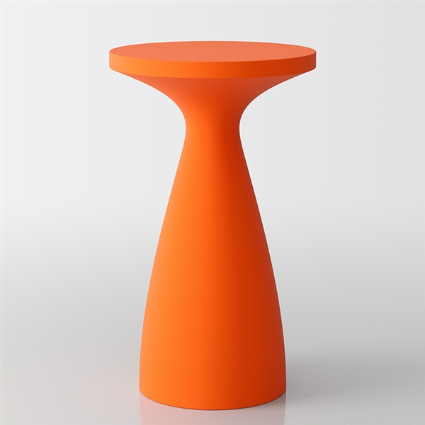 Drink moderne table de bistrot - Orange