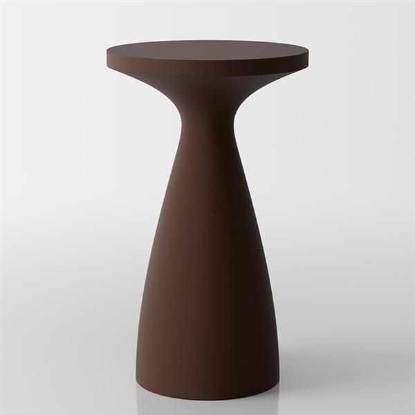 Drink moderne table de bistrot - Marron