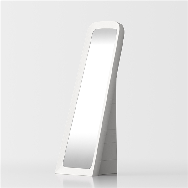Cenerentola free-standing mirror - white