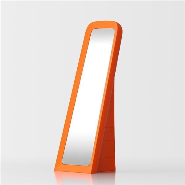 Cenerentola miroir au sol - orange