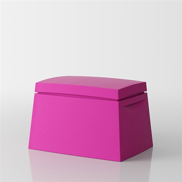 Big Box Multi-purpose trunk by Servetto - fuchsia