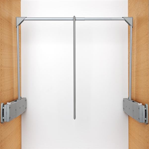 Servetto Super Kleiderlift für den Schrank - grau-grau