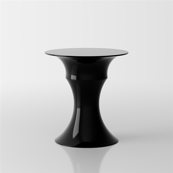 Olimpo black glossy lacquer