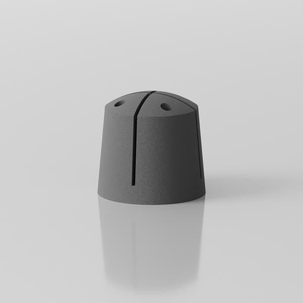 Blitz designer umbrella stand - grey