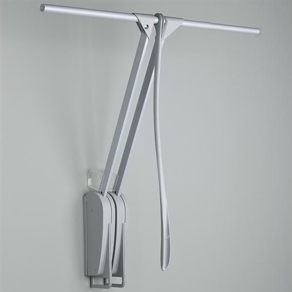 Otto Closet Pro - saliscendi da parete - grigio-grigio