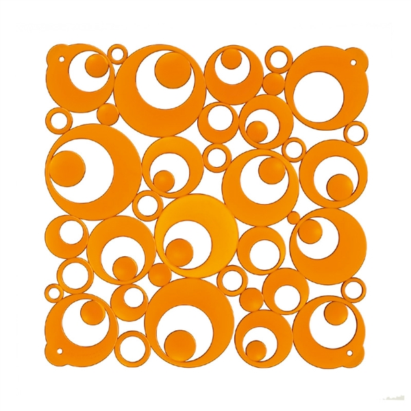 VedoNonVedo Settantuno decorative partitions - transparent orange