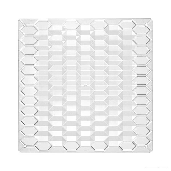 VedoNonVedo Diamante decorative element for furnishing and dividing rooms - transparent