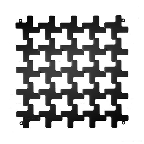 VedoNonVedo Montenapoleone dekoratives Element zur Einrichtung und Teilung von Räumen -  schwarz