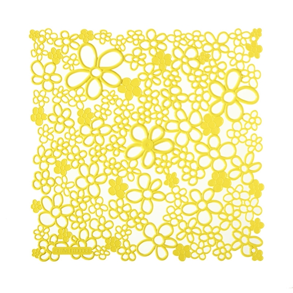 VedoNonVedo Vale decorative element for furnishing and dividing rooms - yellow