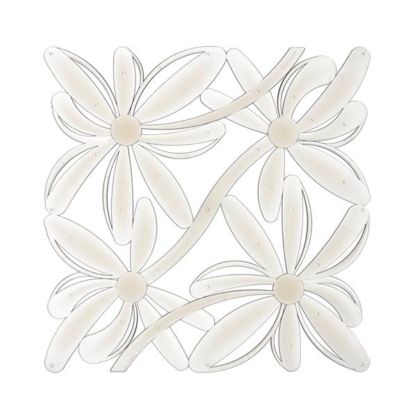 VedoNonVedo Positano élément décoratif pour meubler et diviser les espaces - transparent