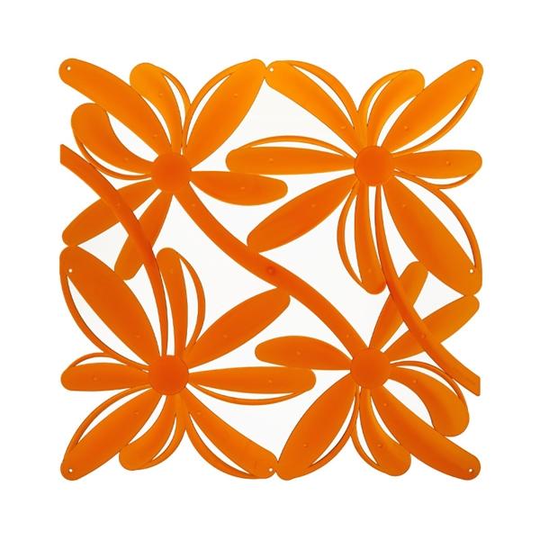 VedoNonVedo Positano dekoratives Element zur Einrichtung und Teilung von Räumen - orange transparent