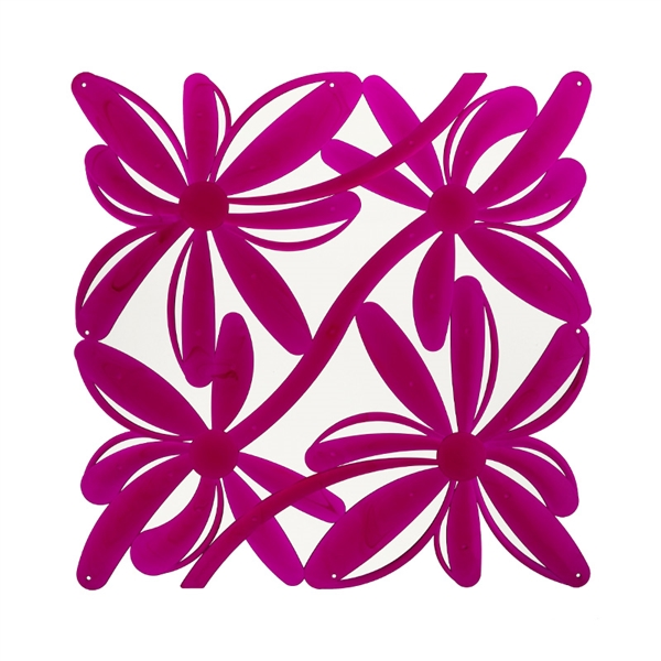 VedoNonVedo Positano decorative element for furnishing and dividing rooms - transparent fuchsia