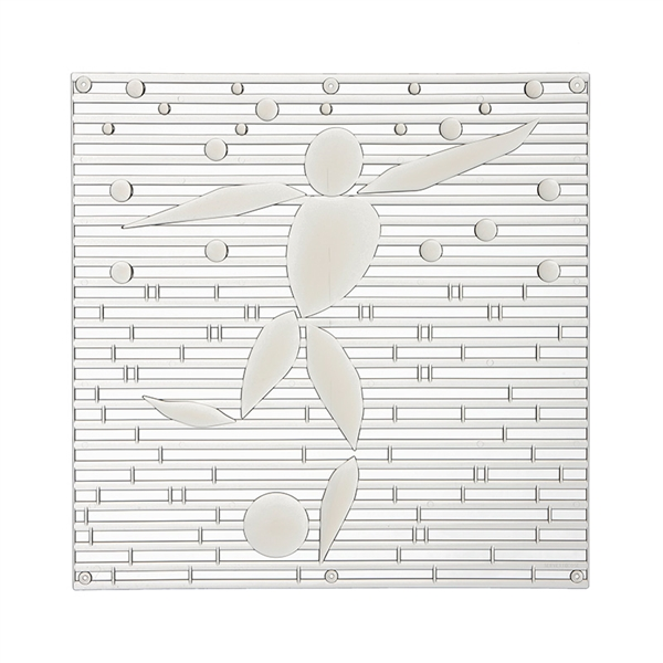 VedoNonVedo Alé o-o decorative element for furnishing and dividing rooms - transparent