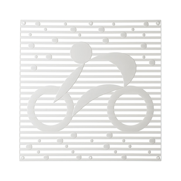 VedoNonVedo Hop Hop decorative element for furnishing and dividing rooms - white