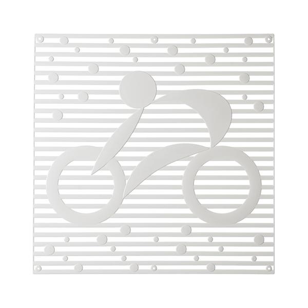 VedoNonVedo Hop Hop élément décoratif pour meubler et diviser les espaces - transparent