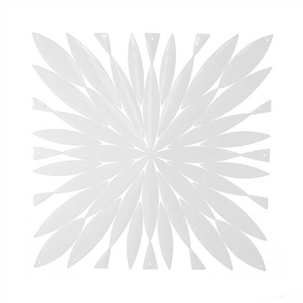 VedoNonVedo Daisy big decorative element for furnishing and dividing rooms - white