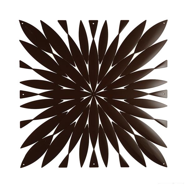 VedoNonVedo Daisy big decorative element for furnishing and dividing rooms - black