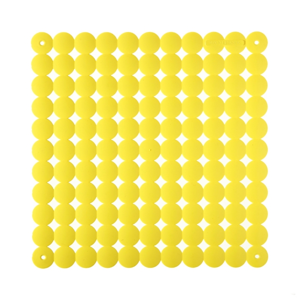 VedoNonVedo Timesquare decorative element for furnishing and dividing rooms - yellow