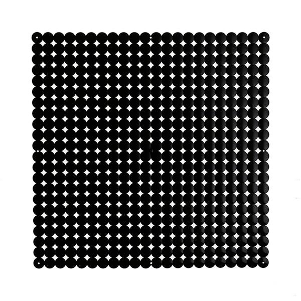 VedoNonVedo Timesquare grande elemento decorativo per arredare e dividere gli spazi - nero
